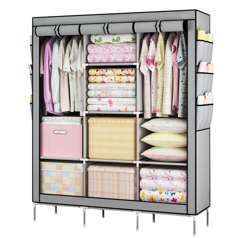 YOUUD Prevail Clothes Closet Portable Wardrobe Storage