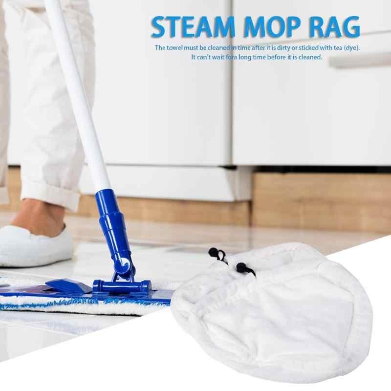 Microfiber Stoom Wasbaar Mop Doek Cover Microfiber Floor Cleaning Vervanging Pads Schoonmaken Driehoekige