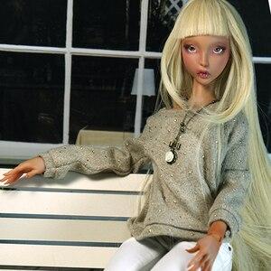 Image 3 - Poupées lilycat Ellana radelle, poupées nouveauté BJD, figurines en résine, jouet nu cadeau pour noël ou anniversaire Oueneifs, 1/3