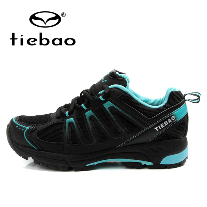 ФОТО TIEBAO Professional Leisure Bicycle Cycling Shoes Breathable Mountain Road Bike MTB Bicycle Self-locking Shoes for Men Women