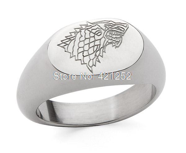 12 шт./лот Игра престолов Старка кольцо