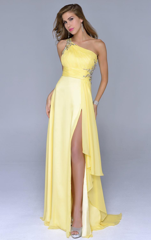 2017 barato de um ombro amarelo longo vestido de noite formal sexy 2017 barato de um ombro amarelo longo vestido de noite formal sexy venda quente do partido prom vestidos custom made vestidos de festas longo em vestidos de thecheapjerseys Choice Image