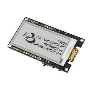 Image 1 - Ttgo t5 v2.3 wifi módulo sem fio bluetooth esp32 placa de desenvolvimento da tela tinta
