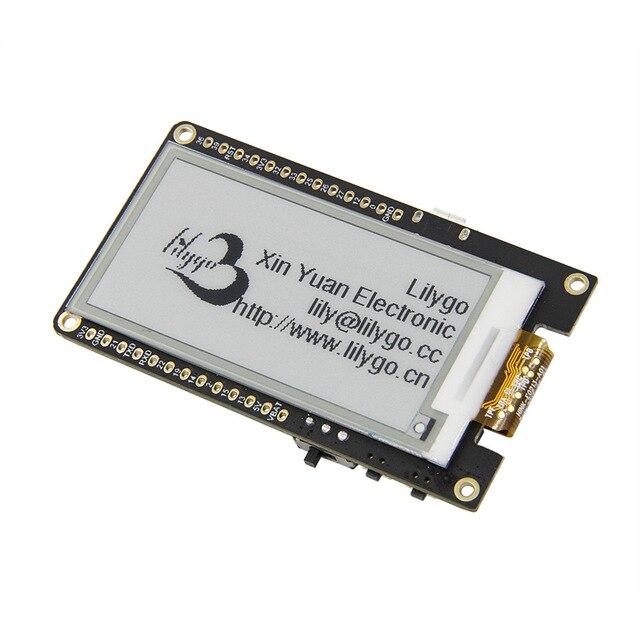 Ttgo t5 v2.3 wifi módulo sem fio bluetooth esp32 placa de desenvolvimento da tela tinta