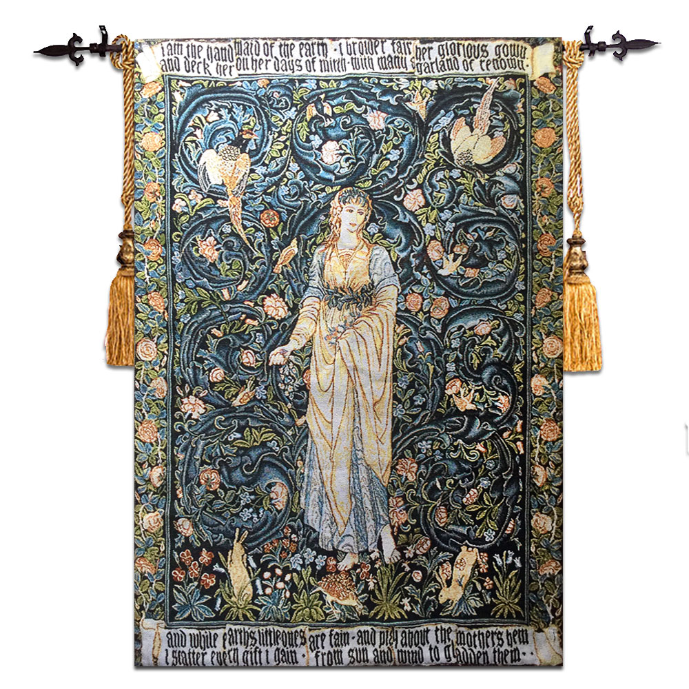 58 90cm Wall Tapestry Belgium Wall Hanging Gobelin