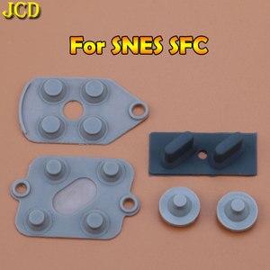Image 2 - JCD 1 セット Nintend Wii/WIIU パッド/WII プロスーパーファミコン SFC/ファミコン PC コンソール導電性ゴムシリコンパッドボタン