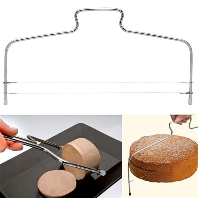 Stainless Steel Adjustable Wire Cake Slicer的圖片搜尋結果