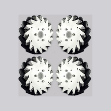 A Set of 152mm 6 Inch Aluminum Mecanum Wheels Online Wholesale( 2 Left , 2 Right)