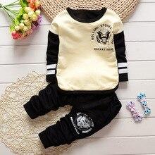 Spring Autumn Garment New Pattern In Children Leisure Time Korean Children Motion Suit Sweater 2 Paper Set