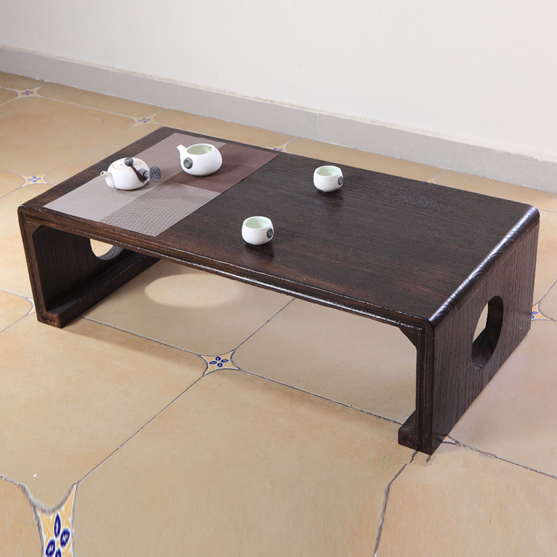 Wood Piano Table Console Bench Rectangle Asian