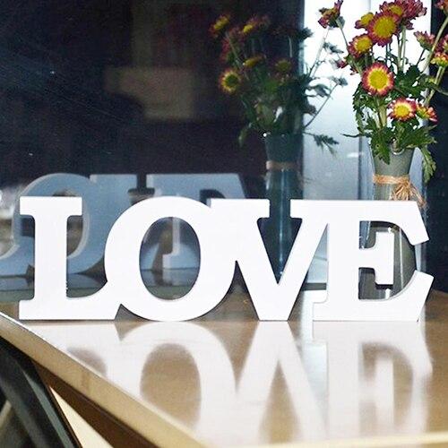 Любовные письма наряд для фотосессий Свадебные признаки Главная стены комнаты украшения для вечеринок