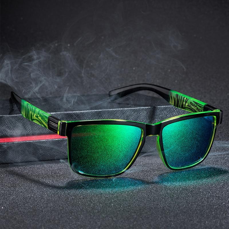 Brand Design UV400 Sunglasses Men Driver Shades Male Vintage Sun Glasses For Men Spuare Mirror Summer  Oculos (1)