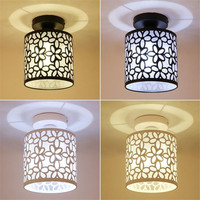 Vintage Corridor Lights Loft Ceiling Lamp Retro Surfaced Mounted Lamp Lampshade For Restaurant Bar Coffee Entrance