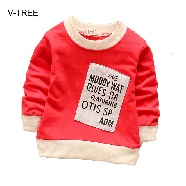 Baby boys girls sweatshirts Boys and girls round neck cotton  T-shirt Spring baby boys and girls clothes