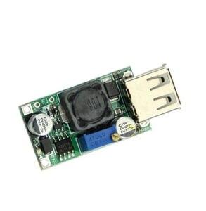 Image 2 - ממיר Boost DC DC 3 V עד 5 V כדי 9 V 2A מודול צעד למעלה מתח יציאת USB