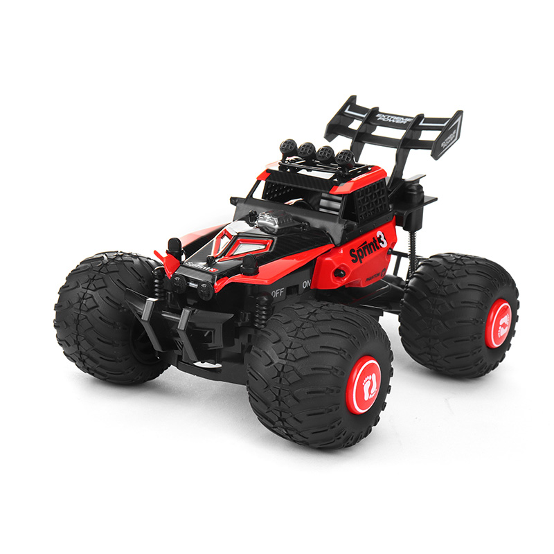 Crazon 172802 2.4G 2WD 1/28 Remove Control Off Road Crawler RC Car High Power Kids Birthday Presents Gifts Remote Control Toys