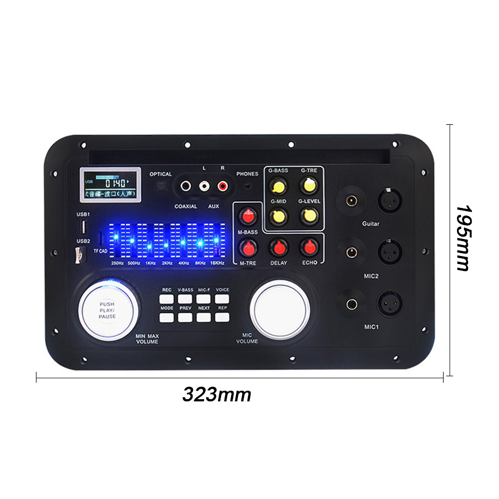 Image 5 - AIYIMA DSP Bluetooth MP3 Decoder Board Karaoke Preamp Mixer EQ Lossless Fiber Coaxial Equalizer For Amplifier Audio Home Theater-in Amplifier from Consumer Electronics