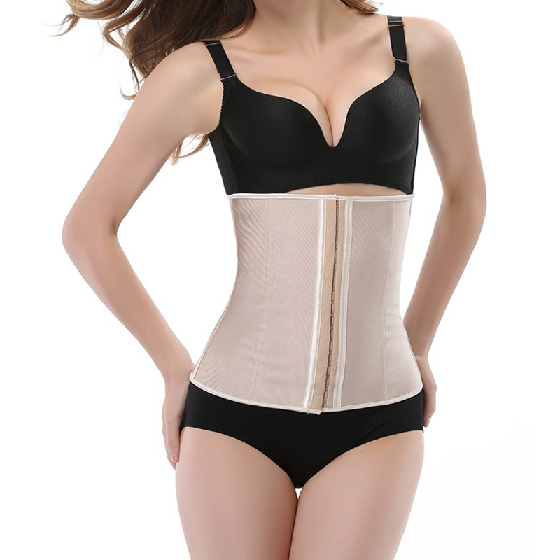 Hot body shaper slimming waist trainer belly modeling strap   bustier     corset   waist shaper belt slimming waist control tummy belt