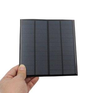 Image 5 - Mini 9V 12V 2W 3W 4.2W Panel słoneczny Panel na energię słoneczną System DIY akumulator moduł ładowarki przenośny Panneau Solaire energii