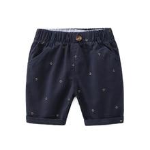 Summer Baby Boys Shorts 100% Cotton Kids Shorts 90-130 Size  Children Short Enfant Baby Clothes Kids Girl Short Jeans Pants цены онлайн