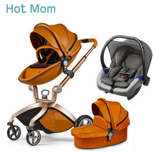 Stroller Hotmom Folded High-Landscape To Russia Lie Or 3-In-1 Sleeping-Basket Can-Sit