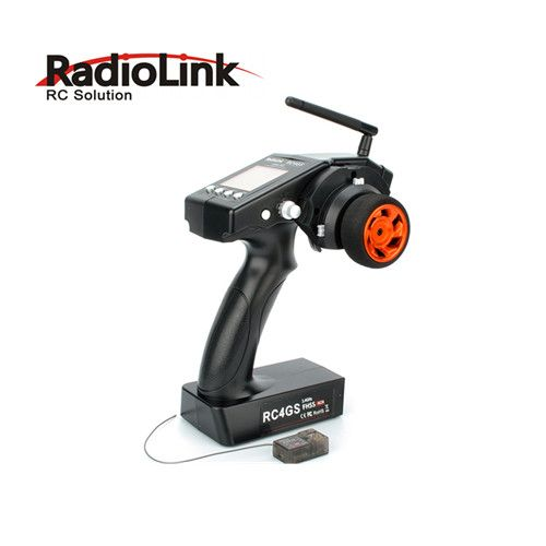 Radiolink RC4GS 4CH Pistol Grip Transmitter with Gyro R4FG RX for RC Car Boat рено сценик rx 4 в мурманске