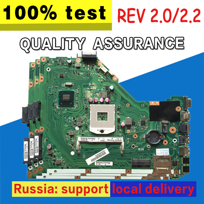 X55A Motherboard REV.2.2 HM70 DDR3 For ASUS X55A Laptop motherboard X55A Mainboard X55A Motherboard test 100% OK samxinno original for asus x55a laptop motherboard rev 2 1 2 2 100% tested perfect integrated mainboard