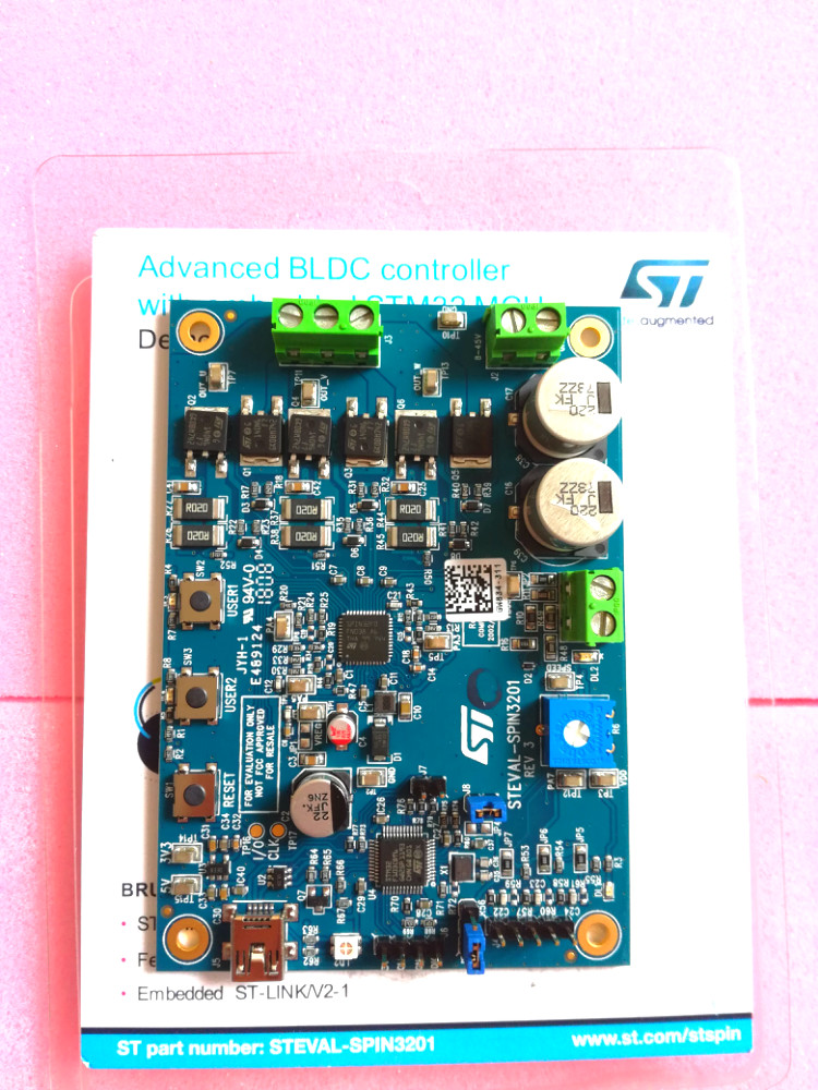 STEVAL-SPIN3201 Advanced BLDC controller development board