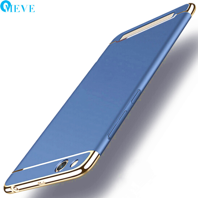 For Xiaomi Redmi 5A Case OMEVE Shell Design 3 in 1 Plating Matte Hard Slim Plastic Back Cover Case for Redmi 5A Smartphone Coque