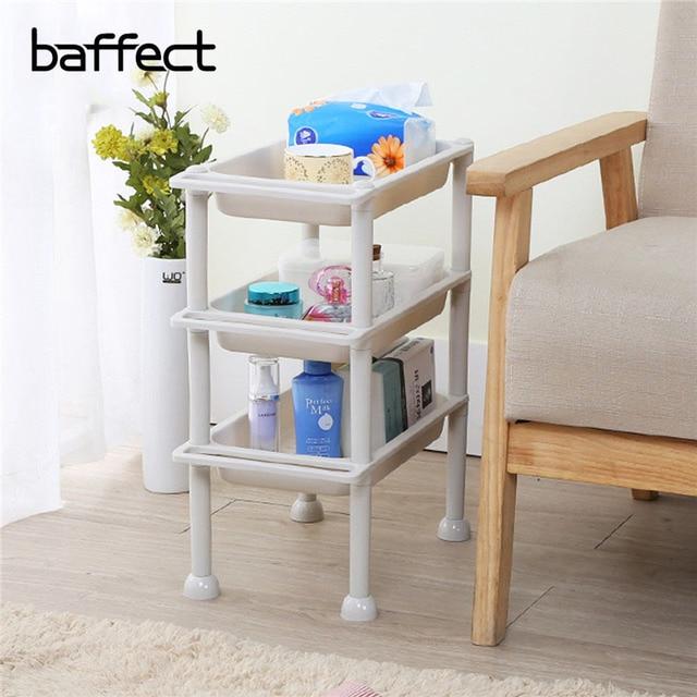 Baffect Multi Layer Shelf Plastic Hollow Storage Racks Anese Style Kitchen Table Shelving Holder Use Organizer