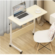 250304/Wearable PU roller/Home bed with simple desk /Folding mobile small desk/Lazy bedside laptop desk /