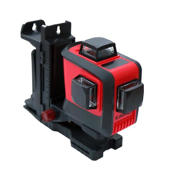 High Performance 12 Lines Laser Level Meter Infrared Red Light 1080 Degree Laser Line Wall Marking Instrument