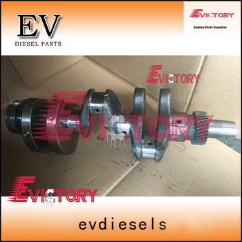 Genuine steel 3TNV70-HGE 3TNV70 crankshaft assy + BEARING FOR Yanmar John deer Gator XUV 850D engine