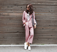 women's autumn and winter wear ladies dress suit Slim fashion career suits ladies women business suits formal office suits work
