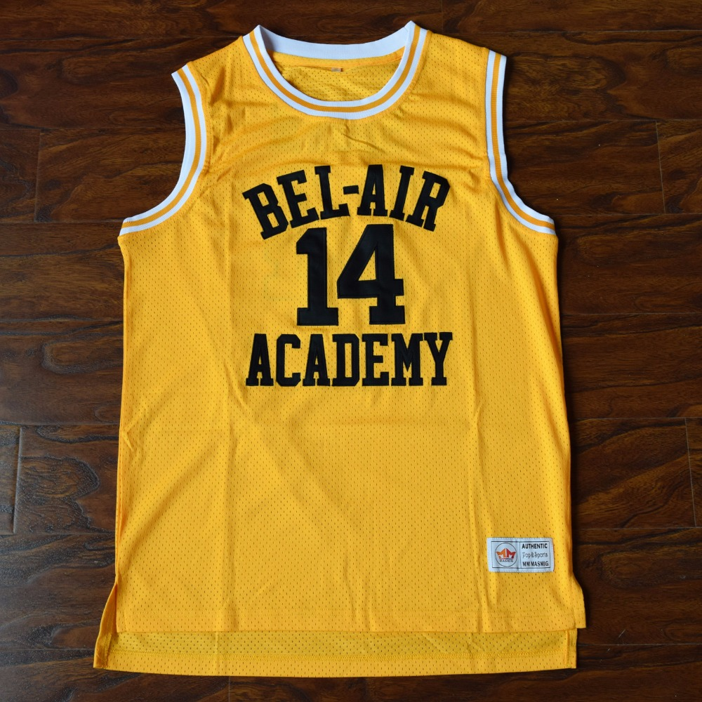 The Fresh Prince of Bel Air Basketball Jersey  14 Will Smith Academy Jersey  Ropus 7d093d280