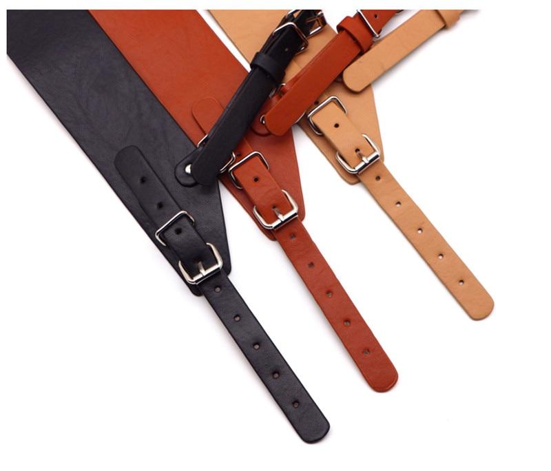 Fashion Women Punk O-Ring Garters Faux Leather Belt