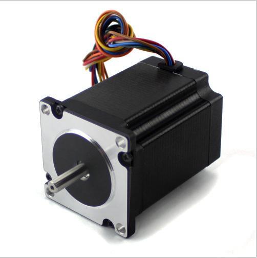 3pcs 1.8 degree Nema 34 stepper motor 60HS88-2008 with 8 wires/2A/6V/2.2N.M CNC Mill Cut Engraver /3D printer 3pcs nema 17 stepper motor jk42hs60 1206 1 8 degree with 4 wires 1 2a 0 5nm cnc mill cut engraver 3d printer
