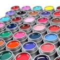 Gel Extensión Constructor UV Gel Nail Polish 6 unids Len Color Gel UV Barniz BRICOLAJE Nail Art Salon Laca