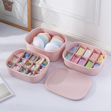 hot deal buy new oval household bra socks underwear organizer box almacenaje ropa interior plastic drawer organizers chest of drawers
