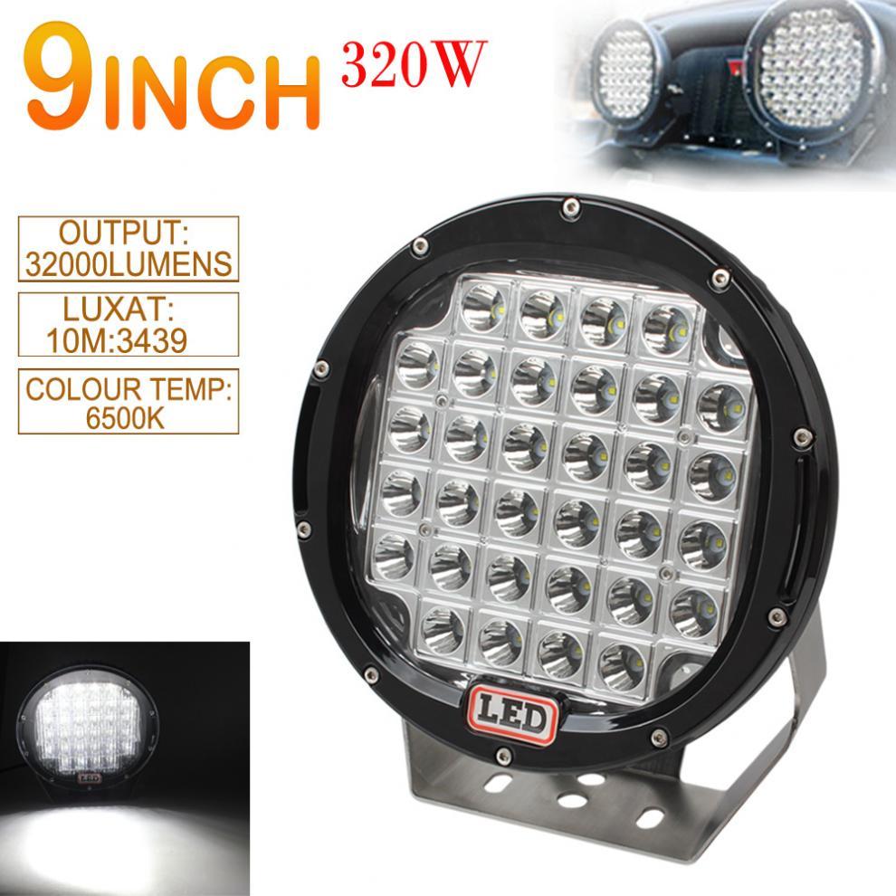 9-дюймовый округлые автомобиля СИД 160w Сид worklight для пятно света автомобиля / затопляют управляя света подходит для offroad внедорожник / квадроцикл / грузовик / лодка