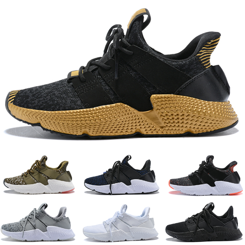 super popular ea243 6be61 US $53.99 10% OFF|2018 Prophere Climacool EQT 4 4s Four generations Clunky  Shoe Sport Propheres Running Shoes black white armygreen eqt-in Running ...