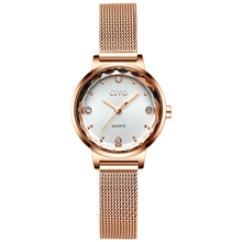 CIVO New Fashion Women Watches Starry Sky Luxury Diamond Mesh Strap Ladies Watch Waterproof Quartz Wristwatches