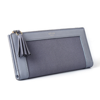 Long Wallet Women 2017 New Female Zero Wallet Multi Functional Thin Tassel Phone Wallets Pu Leather