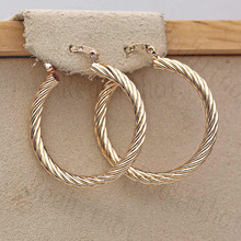 Bohemian Earrings for Women Gold  Fashionable and simple earrings Earring Circle Hoop Trendy Wedding Jewelry