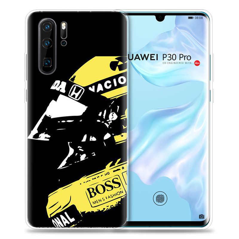 Case for Huawei P30 P20 P10 P9 Mate 10 20 Lite Pro Mobile Cell Phone Bag P Smart Z 2019 Plus Ayrton Senna P8 P30Pro P20lite P10L