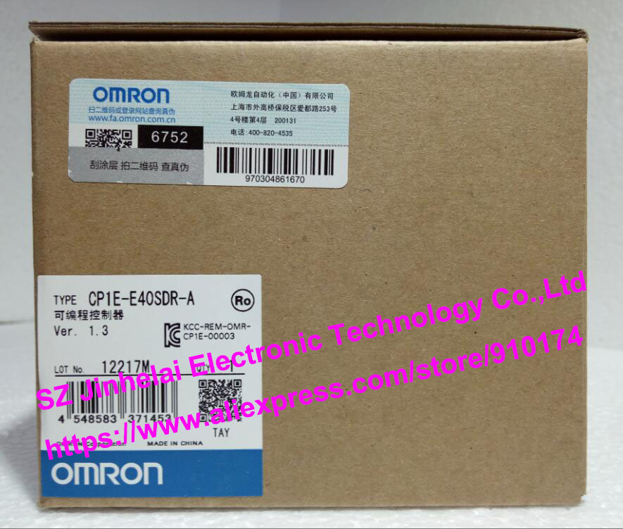 New and original CP1E-E40SDR-A OMRON Programmable controller free shipping multi wireless radio wave signal rf gsm device spy pinhole hidden camera lens sensor scanner detector finder cc308
