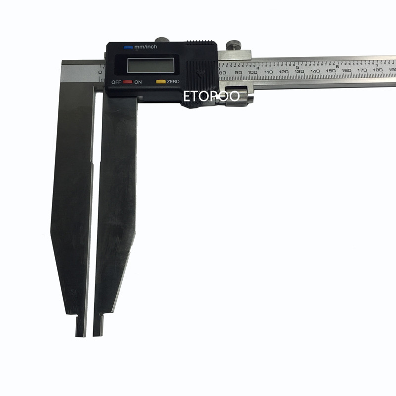 300mmx150mm digital caliper heavy duty digital vernier caliper 0 300mm with long jaw 150mm