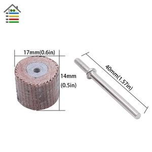 Image 4 - 10PC Mini Abrasive Tools Flap Wheel Sanding Sandpaper Grinding for Dremel Rotary Paper Polishing for Woodworking 80 600 Grit