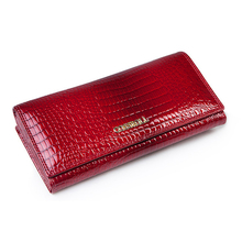 Women Wallets Genuine Leather Wallet Female Purse Long Coin Purses Card Holder Hasp Fashion Wallets And Purses Crocodile Pattern new fashion women wallet crocodile pattern high quality purse for female coin purses money card holders ladies buckle purses y3