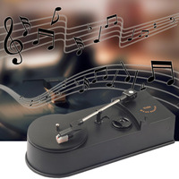 Multifunctional USB Mini Phonograph Turntable Player Audio Player Support Turntable Convert LP Record To CD MP3